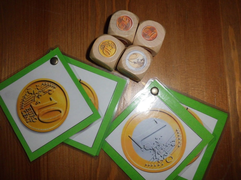 Daus de monedes